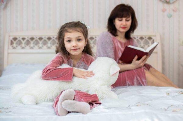 Комплекты велюровые для мамы и дочки